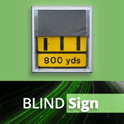 TM SafetySigns BLIND Sign Products Sign Manufacture